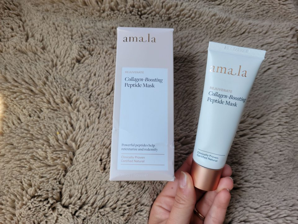 Amala Collagen Boosting Peptide Mask Review